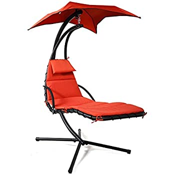 Amazon Com Hammock With Stand Lounge Chair Outdoor Chair