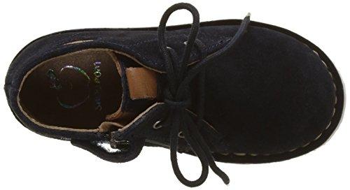 Jungen Milky Blau Marineblau Pom Desert Shoo dunkles Boots