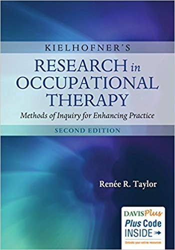 [0803640374] [ 9780803640375] Kielhofner's Research in Occupational Therapy: Methods of Inquiry for Enhancing Practice 2nd Edition-Paperback