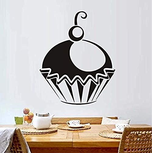 Profit Decal Looks Wonderful Cupcake Home Kitchen and Lounge Pattern Poster - Wall Decals Mural Decor Vinyl Z7273