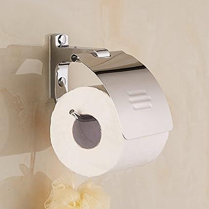 Znzbzt Los baños son un rack de toallas de papel Papel higiénico sin perforación portarrollos papel