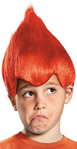 Disguise Red Wacky Child Wig, One Size Child, One Color