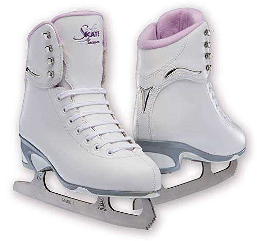 Jackson JS 181 SoftSkate Girls Figure Ice Skates (Purple, 2)