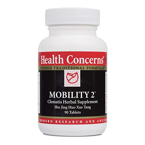 Health Concerns – Mobility 2 – Clematis Herbal Supplement Shu Jing Huo Xue Tang – Supports Muscle, Tendon and Joint Health – 90 Tablets Review
