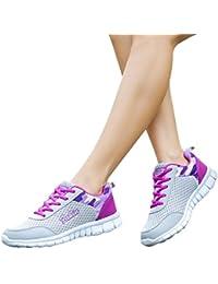 Women Sports Shoes, Shybuy Women's Fashion Running Shoes...