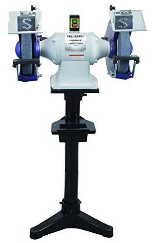 Palmgren 12 inch 3HP 220V, 3PH grinder w/pedestal stand & dust collection