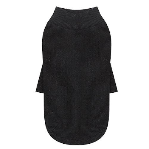 Puppy Angel Everyday Pullover leicht für Hunde schwarz Größe S/M