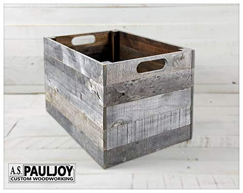White Distressed Rustic Pallet Country Wedding Decoration Photo Prop, Wooden Storage Organization
