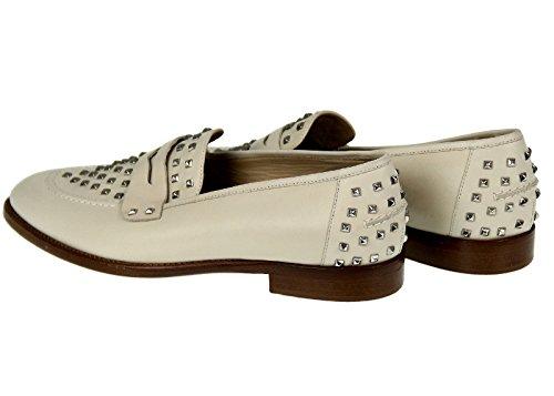 J Crew Collection Penny Mocassini Stile Bianco # 07017 Taglia 10.5