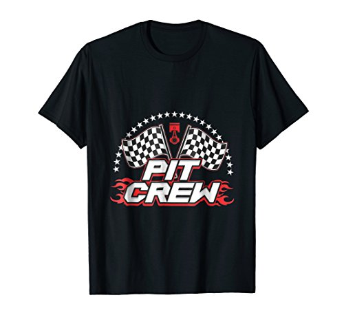 Pit Crew T-shirts Great for Racing Teams or Just for Fun