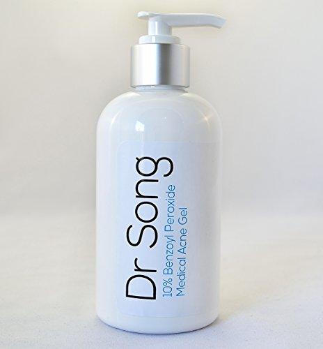 10% de peroxyde de benzoyle acné crème jusqu'à 8 oz Lotion Dr Song (8 oz)
