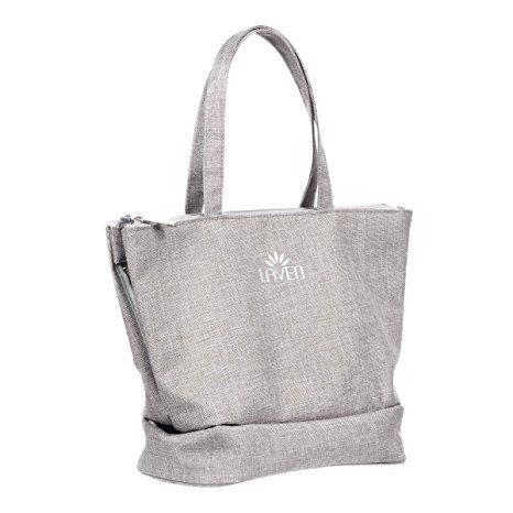 LAVEN 3- in-1 Travel Toiletry Bag Organizer Cosmetic Handbag Home Hanging Bag, Nice Christmas Gift Idea