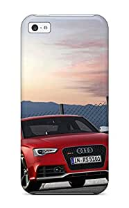 Forever Collectibles Audi Rs5 Front Angle 4 Red Rs Supercar Cars Audi Hard Snap-on Iphone 5c Case