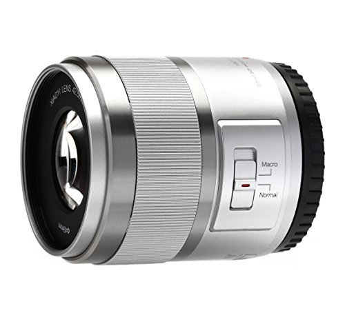 YI 42.5mm F1.8 Lens with Macro Mode for Mirrorless Camera MFT Mount Ice Silver by YI
