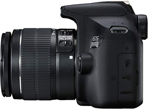 Canon EOS 1500D 24.1 Digital SLR Camera (Black) with EF S18-55 is II Lens, 16GB Card and Carry Case 6