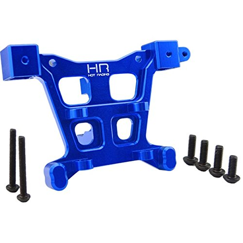 Hot Racing RVO32M06 Aluminum Rear Body Mount (Blue) - E-Slayer Summit