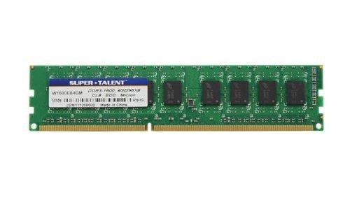 - Super Talent DDR3-1600 8 GB ECC Micron Chip Server Memory W1600EB8GM