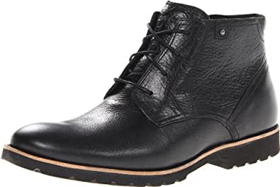 Rockport Men's Ledge Hill Chukka Boot,Black,6.5 W US