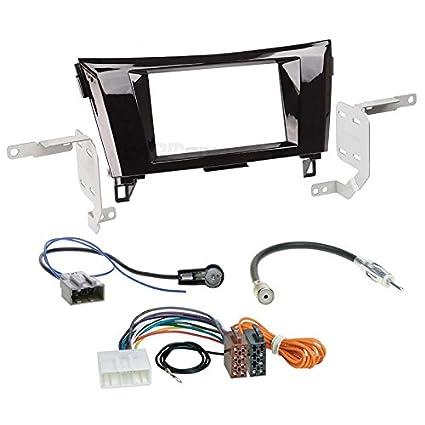 Amazon.com: Carmedio 2 Din Car Radio Installation Set ...