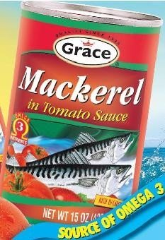 Grace Mackerel in Tomato Sauce,