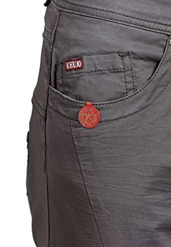 Pantalón Mujer Khujo Liso Gris Para Pq7nWZWOw