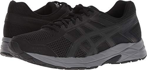 ASICS Men's Gel-Contend 4 Black/Dark Grey Ankle-High Running Shoe - 11M (Shoes Tennis Tennis Mens)