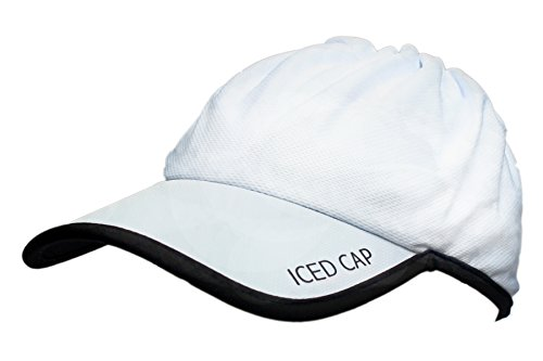ICED Cap 3.0 (White with Black Trim) (Women Iced Gel)