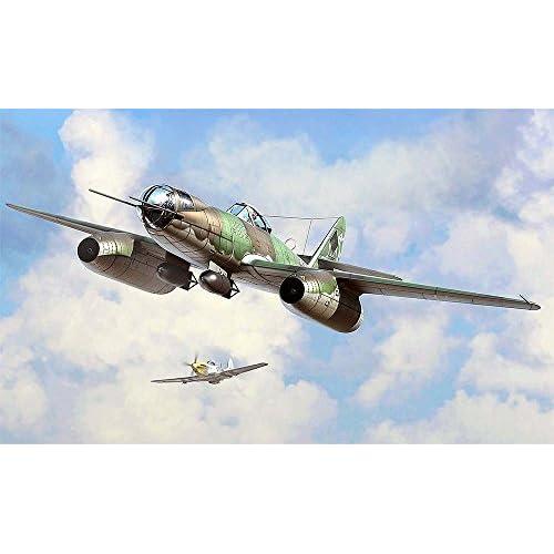 Hobbyboss 80377 – Kit pour modèle réduit «Me 262A-2a/U2» échelle 1/48