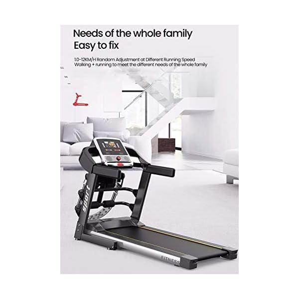 Fitness Club Tapis roulant Professionale, Pieghevole, Macchine da Passeggio Carico 150 kg, Cyclette Compatibile WiFi… 5 spesavip