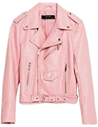 Biker Jacket Pink UNvR28