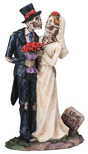 Love Never Wedding Couple Figurine