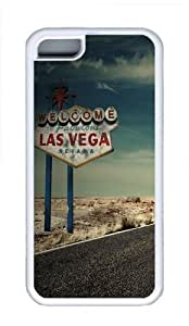 iPhone 6 plus 5.5 Cases, iPhone 6 plus 5.5 Case - Las Vegas Cool TPU Case Cover Protector For iPhone 6 plus 5.5 - White