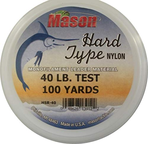 Mason HSR-40 Hard Type Nylon Leader