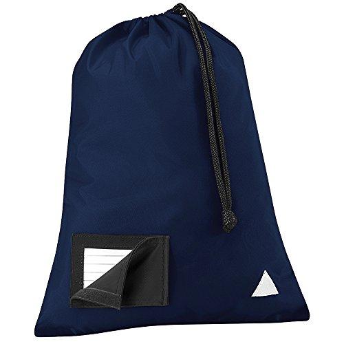 Quadra - Bolso de asas para hombre azul marino