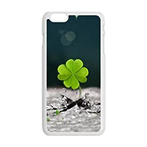 Generic Cell Phone Case For Iphone 6 Plus case 5.5 inch case Graphics and More Lots of Luck Good Lucky Irish Four Leaf Clover Design Mobile Phone Cases Protective shell