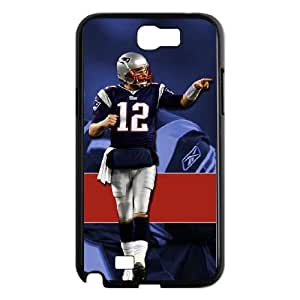 New England Patriots Samsung Galaxy N2 7100 Cell Phone Case Black DIY gift zhm004_8678393