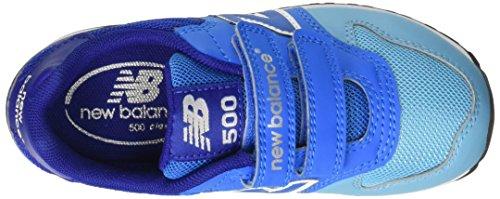 New Balance Kv500Bly - Zapatillas infantil, color azul / celeste