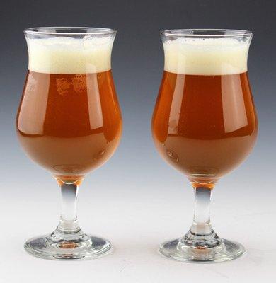 Tulip Beer Glass Set by TrueBeer.com (Tulip Glasses)