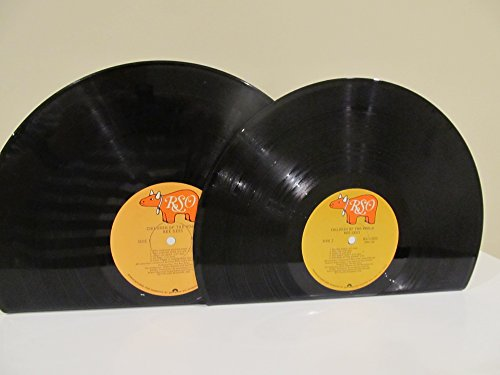 "Vinyl Record Bookends LP Bee Gees ""Children of the World"" on RSO Label"