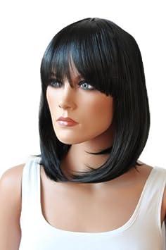 PRETTYSHOP Parrucca da donna Fashion BOB resistente al calore capelli corti colori di variazione SH032d