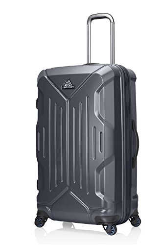 - Gregory Mountain Products Quadro Hardcase 30 Inch Hardsided Roller | Travel, Business, Vacation | Multi-Directional Spinner Wheels, Durable Polycarbonate Shell, Waterproof Interior Pocket