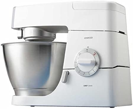 Kenwood KM336 Robot de cocina Classic Chef, 800 W, metal, color blanco: Amazon.es: Hogar