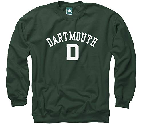 Ivysport Dartmouth College Crewneck Sweatshirt, Athletic, Medium