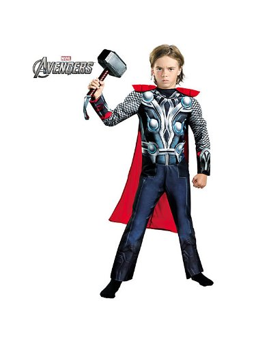 Thor Movie Classic Muscle Child Costume - Small (Thor Movie Costume)