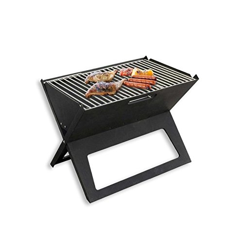 Cedar Trail Original Compact Outdoor Portable Barbeque & Folding Stowaway Foldable BBQ Charcoal Grill