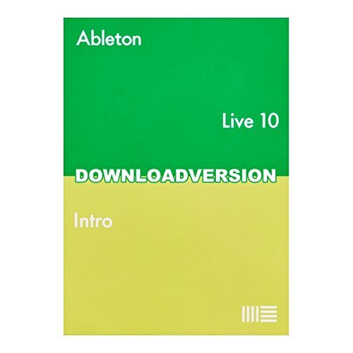 [해외]Ableton Live10 Intro 음악 제작 소프트 【 다운로드 】이 글 / Ableton Live10 Intro Music Production Software [Download Versio