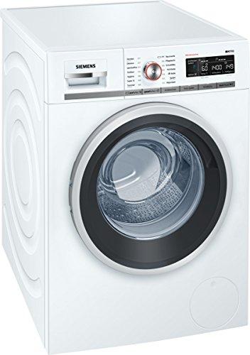 Siemens iQ700 WM14W5FCB iSensoric Premium-Waschmaschine / A+++ / 1400 UpM / 9 kg / weiß / SpeedPerfect / AquaStop / Antiflecken-System