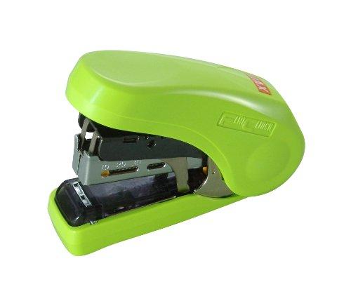 max-hd-10fl-flat-clinch-light-effort-stapler-light-green