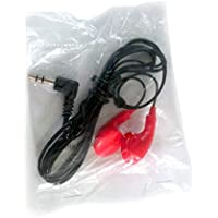 Bulk Disposable Headphones Stereo EB-7 RED Earbuds 25 Pack