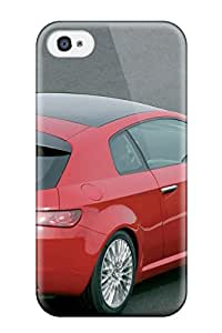 High Quality DPatrick Alfa Romeo Brera Picture Skin Case Cover Specially Designed For Iphone - 4/4s
